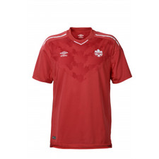Umbro Canada Home 18/19 Short Sleeve Jersey