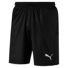 Puma Pocketed Liga Short - Black