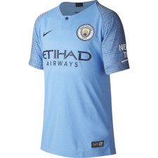 Nike Manchester City FC Stadium Home Jersey - Field Blue