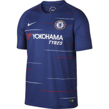 Nike Breathe 18/19 Chelsea FC Home Stadium Jersey - Rush Blue