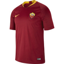 Nike Breathe A.S. Roma Home Stadium Jersey - Red