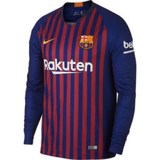 Nike Breathe FC Barcelona Home Stadium Jersey - Deep Royal