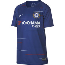 Nike Breathe 18/19 Chelsea FC Home Stadium Jersey Youth - Rush Blue