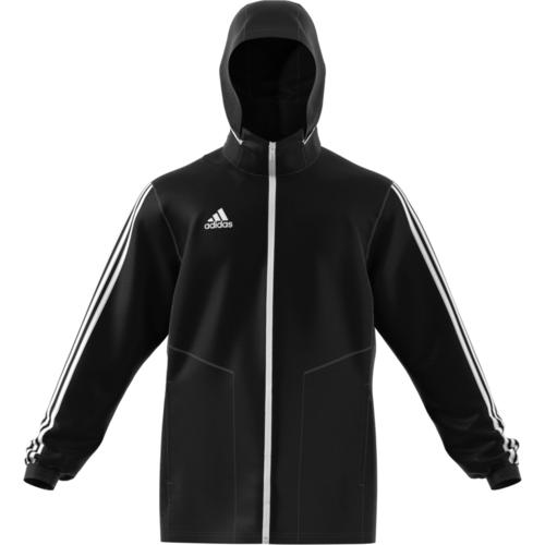 5fa70b82f adidas Tiro 19 All Weather Jacket - Black/White | SOCCERX