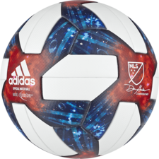 adidas MLS Official Match Ball - White/Silver Met