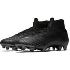Nike Superfly 6 Elite Firm Ground Boot - Black/Black
