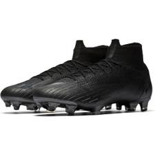 Nike Superfly 6 Elite Firm Ground Boot - Black/Black