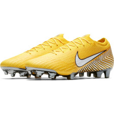 Nike Neymar Vapor 12 Elite Firm Ground Boot - Amarillo/White/Yellow