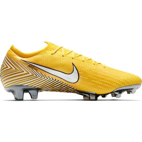 Nike Neymar Vapor 12 Elite Firm Ground Boot - Amarillo/White/Yellow