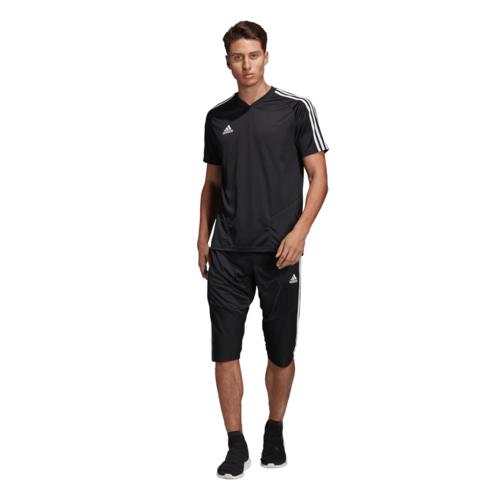 adidas Tiro 19 3/4 Pant - Black/White