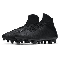 Nike Hypervenom 3 Elite Dynamic Fit Firm Ground Boot Jr - Black/Black