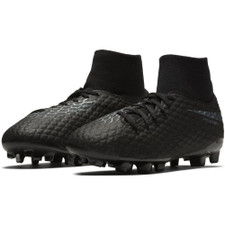 Nike Hypervenom 3 Academy Dynamic Fit Firm Ground Boot Jr - Black