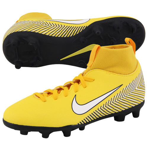 5811d68380b Nike Neymar Superfly 6 Club Firm Ground Boot Jr - Amarillo White ...