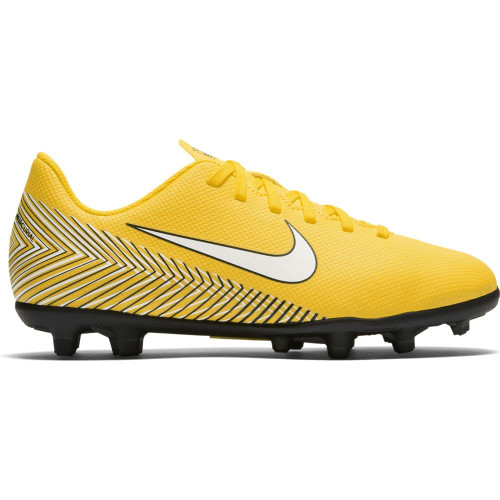 Nike Neymar Vapor 12 Club MG Jr - Amarillo/White