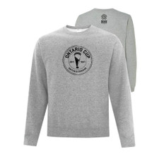 Ontario Cup Everyday Crewneck Sweatshirt - Athletic Grey