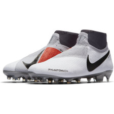 Nike Phantom Vision Elite Dynamic Fit Firm Ground Boot - Pure Platinum/Black Crimson-Dark Grey
