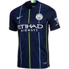 Nike Breathe Manchester City FC 18/19 Away Stadium Jersey
