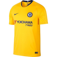 Nike Breathe Chelsea FC 18/19 Away Stadium Jersey - Yellow