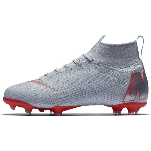 Nike Superfly 6 Elite Firm Ground Boot Jr - Wolf Grey