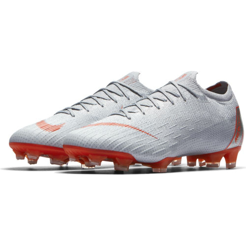 Nike Vapor 12 Elite Firm Ground Boot - Wolf Grey