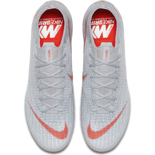Nike Vapor 12 Elite Firm Ground Boot - Wolf Grey