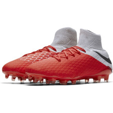 Nike Hypervenom 3 Pro Dynamic Fit Firm Ground Boot - Lt Crimson