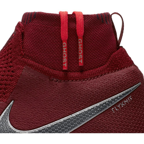 Nike Phantom VSN Elite Dynamic Fit Firm Ground Boot Jr - Team Red/Mtlc Dark Grey-Bright Crimson