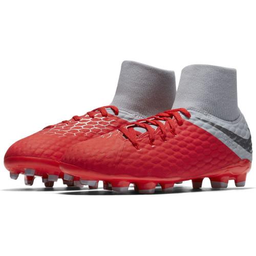 2176164e4 Nike Hypervenom 3 Academy Dynamic Fit Firm Ground Boot - Lt Crimson ...