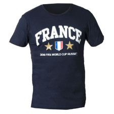 France 2018 World Cup Champs Tee - Navy