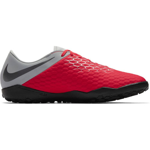 Nike Hypervenom 3 Academy Artificial Turf Boot - Crimson/Grey