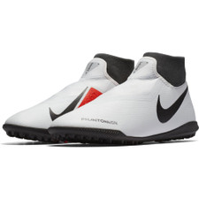 Nike Phantom VSN Academy Dynamic Fit Artificial Turf Boot - Platinum/Black/Crimson