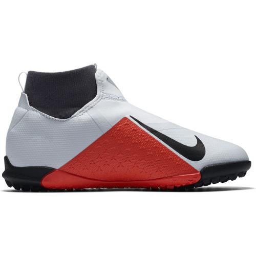 Nike Phantom VSN Academy Dynamic Fit Artificial Turf Boot Jr - Platinum/Black/Crimson