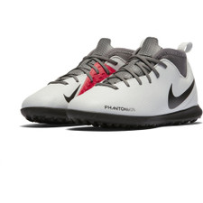 Nike Phantom VSN Club Dynamic Fit Artificial Turf Boot Jr - Platinum/Black/Crimson