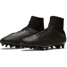 Nike Hypervenom 3 Academy Dynamic Fit Firm Ground Boot - Black