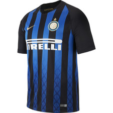 Nike Breathe 18/19 Inter Milan Home Stadium Jersey - Black/Gold