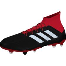 adidas Predator 18.1 FG - Black/White/Red