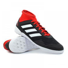adidas Predator Tango 18.3 Indoor Boots - Black/FT WHT/RED