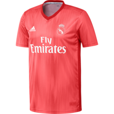 adidas Real Madrid Third Jersey - Red