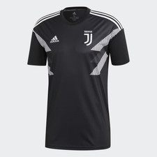 adidas Juventus Home Presentation Shirt - Black/White