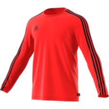 adidas Tango Terry Jersey Long Sleeve - Red