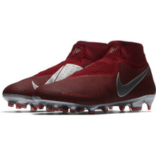 Nike Phantom VSN Elite Dynamic Fit Firm Ground Boot - Team Red/Mtlc Dark Grey-Bright Crimson