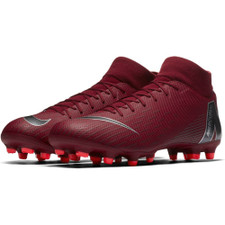 Nike Superfly 6 Academy Firm Ground Boot - Team Red