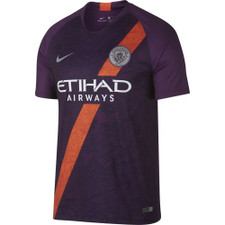 Nike Breathe Manchester City FC Stadium Jersey - Purple