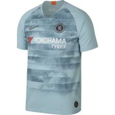 Nike Breathe Chelsea FC Stadium Jersey - Blue/Silver