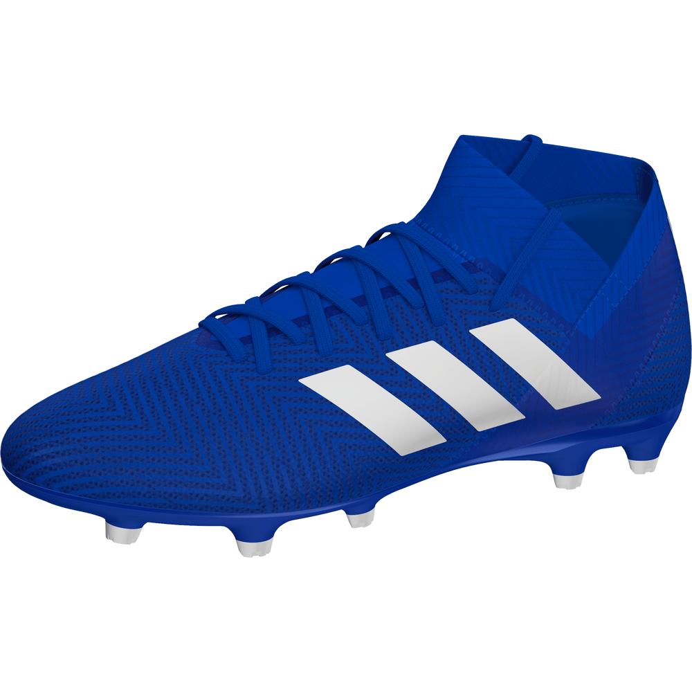 adidas Nemeziz Firm Ground Boot Bleu Blanc SOCCERX