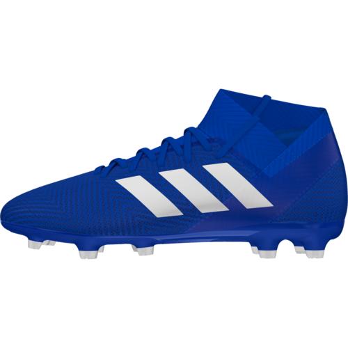 2c69b5451 adidas Nemeziz 18.3 Firm Ground Boot - Blue/White | SOCCERX