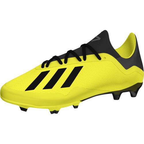 03059faacd adidas X 18.3 Firm Ground Boot - Solar Yellow Core Black White