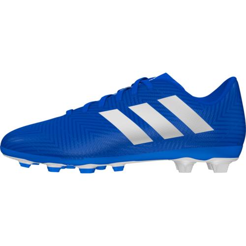 660dc0b55 ... adidas Nemeziz 18.4 Firm Ground Boot Jr - Blue White ...