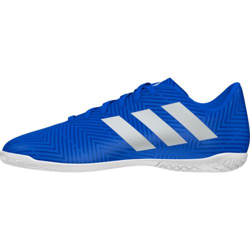 e2456ecba ... adidas Nemeziz Tango 18.4 Indoor Boot Jr - Blue White ...