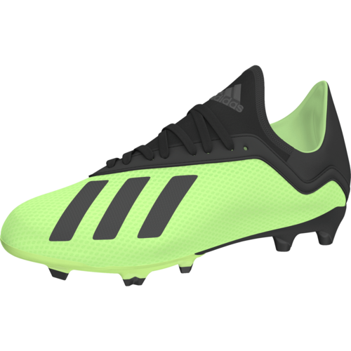 84eddab3f adidas X 18.3 Firm Ground Jr - Solar Yellow Core Black Solar Yellow ...